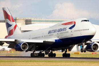 G-BNLW - British Airways Boeing 747-400