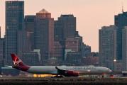 G-VWEB - Virgin Atlantic Airbus A340-600 aircraft