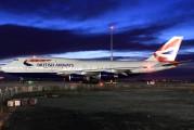 G-CIVN - British Airways Boeing 747-400 aircraft