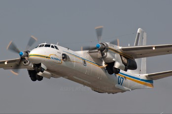 07 - Ukraine - Ministry of Internal Affairs Antonov An-26 (all models)