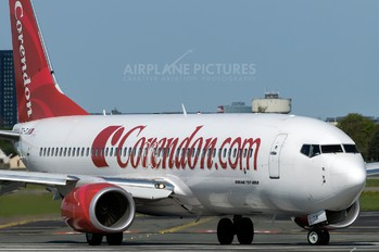 TC-TJK - Corendon Airlines Boeing 737-800