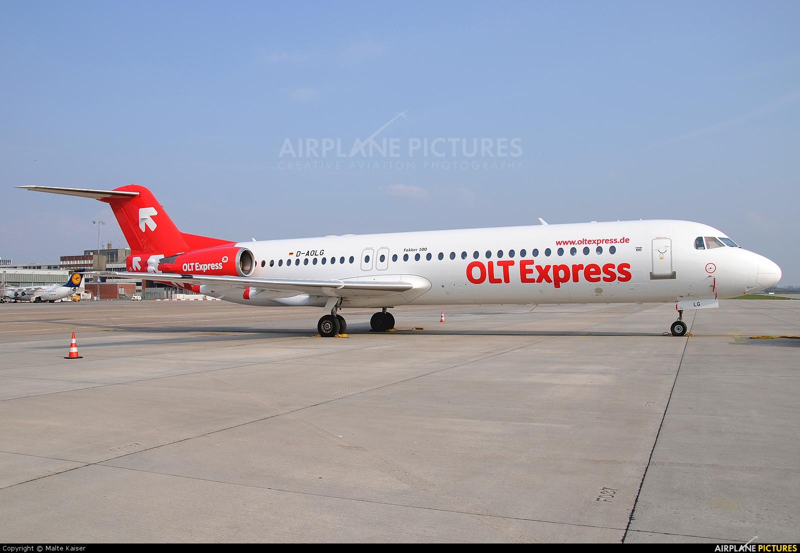 OLT Express D-AOLG aircraft at Bremen