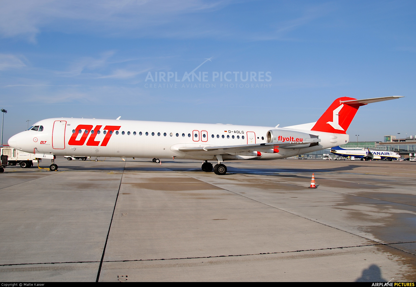 OLT - Ostfriesische Lufttransport D-AOLG aircraft at Bremen