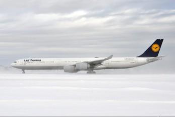 D-AIHD - Lufthansa Airbus A340-600