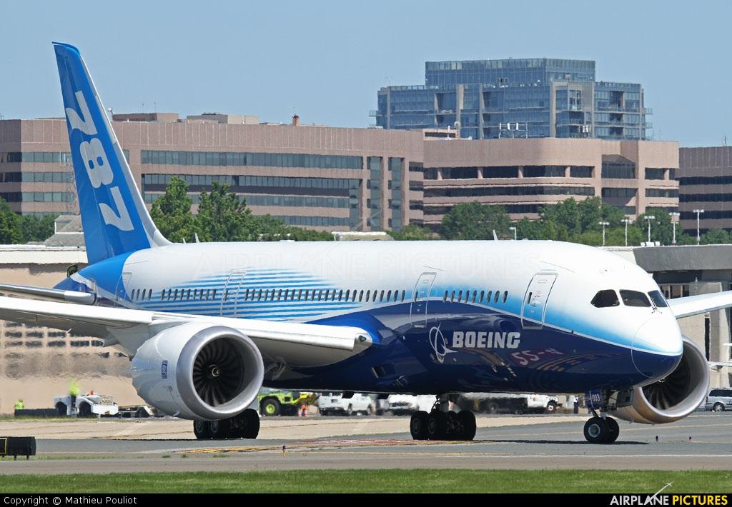Boeing Company N787BX aircraft at Washington - Ronald Reagan National