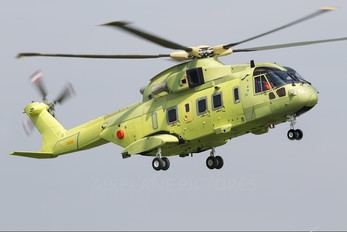 ZR338 - India - Air Force Agusta Westland AW101 641 Merlin (India)