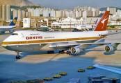 VH-EBN - QANTAS Boeing 747-200 aircraft