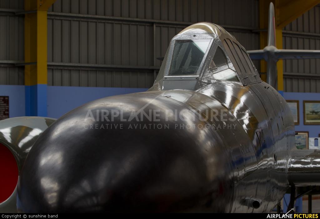 Royal Air Force WS692 aircraft at Newark Air Museum