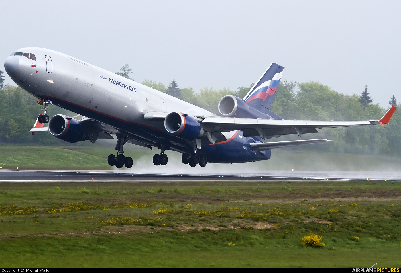 Aeroflot Cargo VP-BDP aircraft at Frankfurt - Hahn