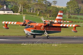C-FAYU - Buffalo Airways Canadair CL-215