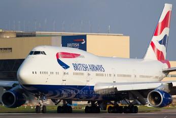 G-BNLG - British Airways Boeing 747-400