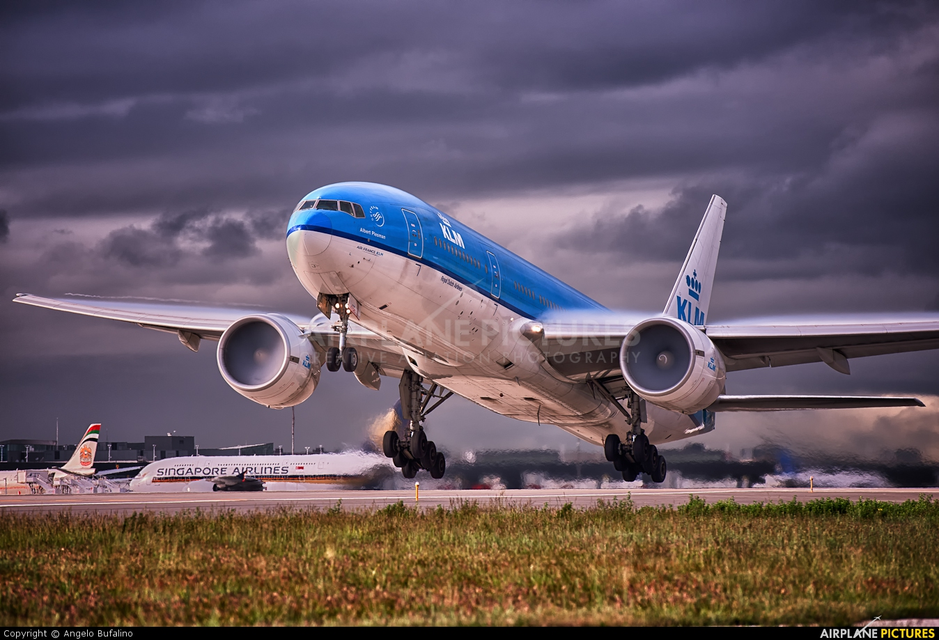 KLM PH-BQA aircraft at New York - John F. Kennedy Intl