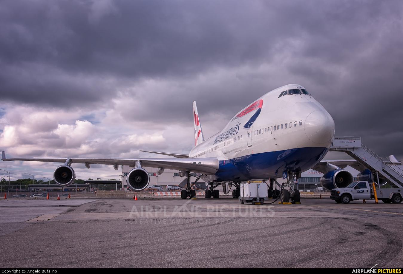 British Airways G-BNLO aircraft at New York - John F. Kennedy Intl