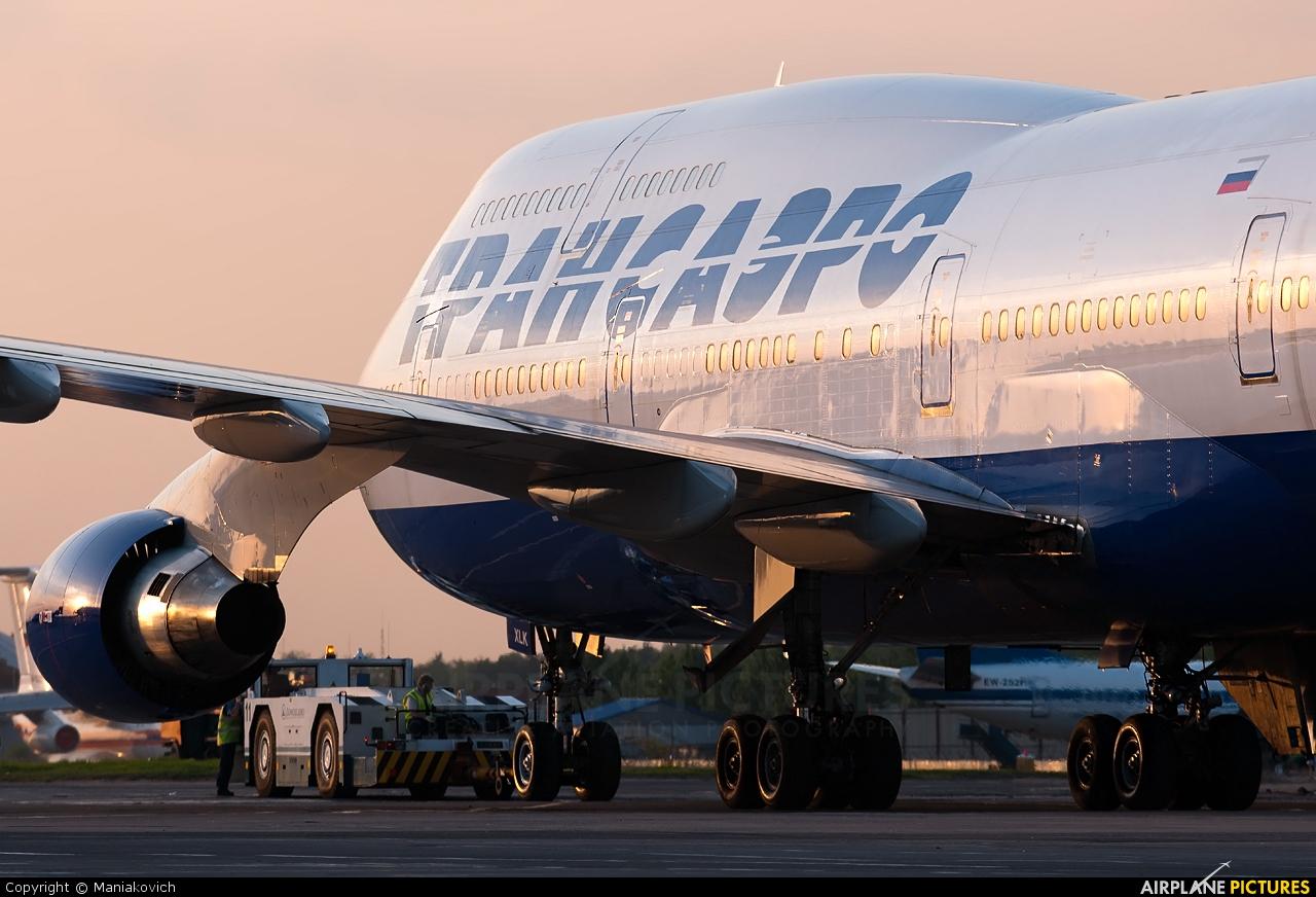 Transaero Airlines EI-XLK aircraft at Moscow - Domodedovo