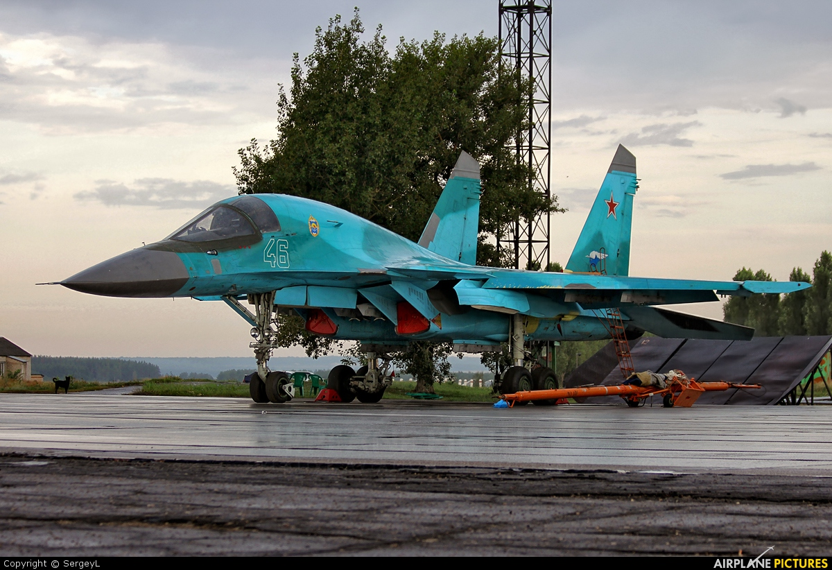 Russia - Air Force 46 aircraft at Undisclosed Location