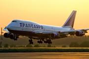 EI-XLB - Transaero Airlines Boeing 747-400 aircraft