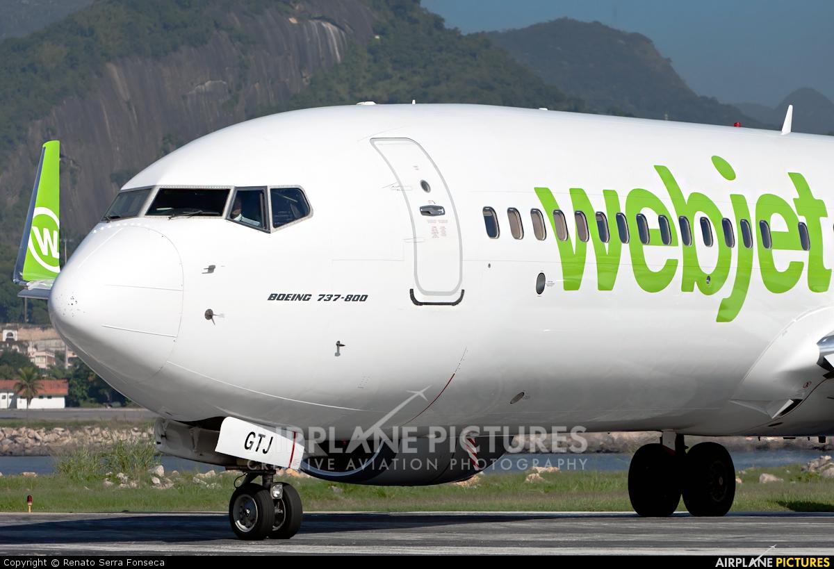 WebJet Linhas Aéreas PR-GTJ aircraft at Rio de Janeiro - Santos Dumont