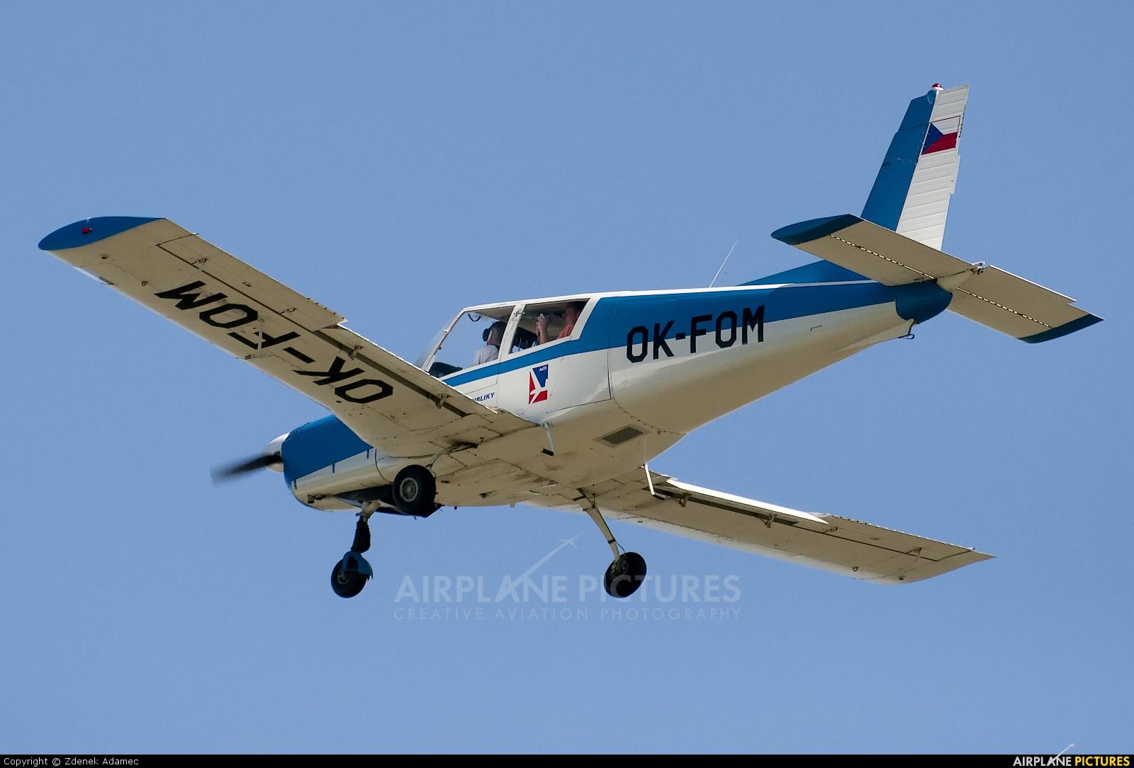 Aeroklub Czech Republic OK-FOM aircraft at Příbram