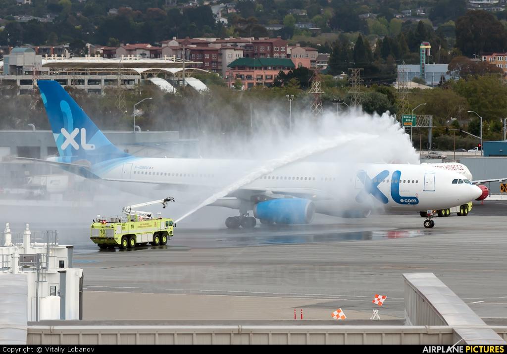 F gseu xl airways france airbus a330 200 at san for Airbus a330 xl airways interieur