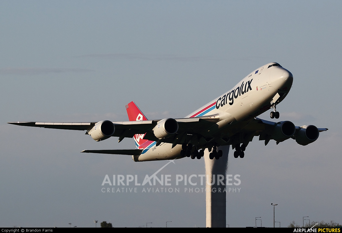Cargolux LX-VCD aircraft at Seattle-Tacoma Intl