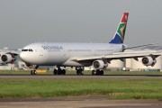 ZS-SXG - South African Airways Airbus A340-300 aircraft