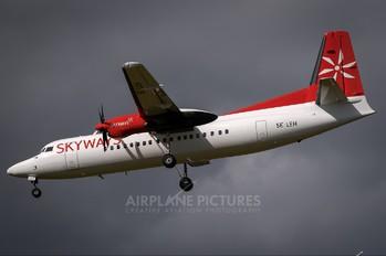 SE-LEH - Skyways Fokker 50