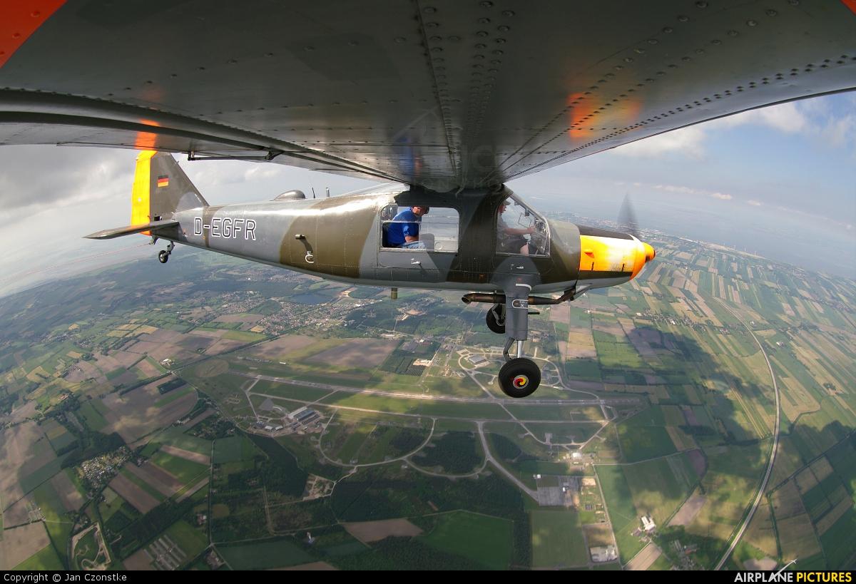Sportfluggruppe Nordholz/Cuxhaven D-EGFR aircraft at Nordholz