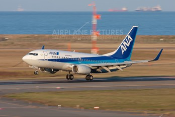 JA15AN - ANA - All Nippon Airways Boeing 737-700