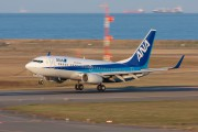 JA15AN - ANA - All Nippon Airways Boeing 737-700 aircraft