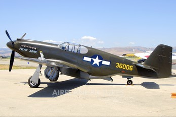 N51Z - Private North American P-51A Mustang