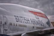 G-BNLE - British Airways Boeing 747-400 aircraft