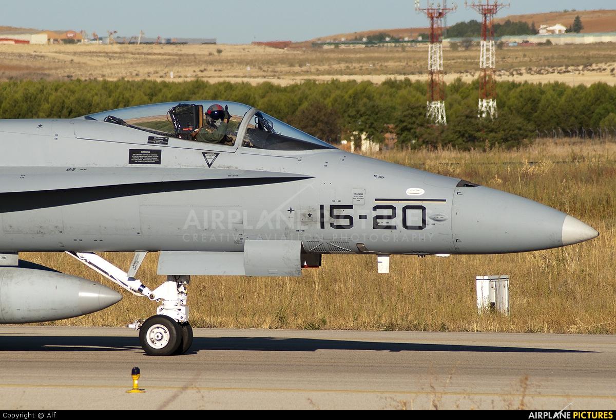 Spain - Air Force C.15-33 aircraft at Madrid - Torrejon