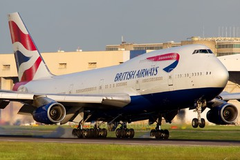 G-CIVO - British Airways Boeing 747-400