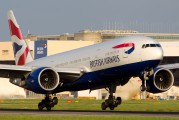 G-ZZZB - British Airways Boeing 777-200 aircraft