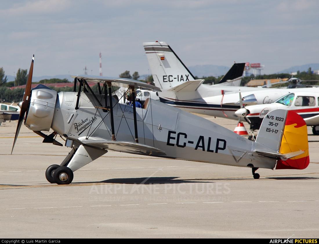 Fundación Infante de Orleans - FIO EC-ALP aircraft at Madrid - Cuatro Vientos