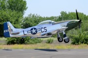 N20MS - Private North American P-51D Mustang aircraft