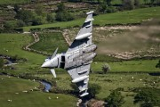 ZJ803 - Royal Air Force Eurofighter Typhoon T.1 aircraft