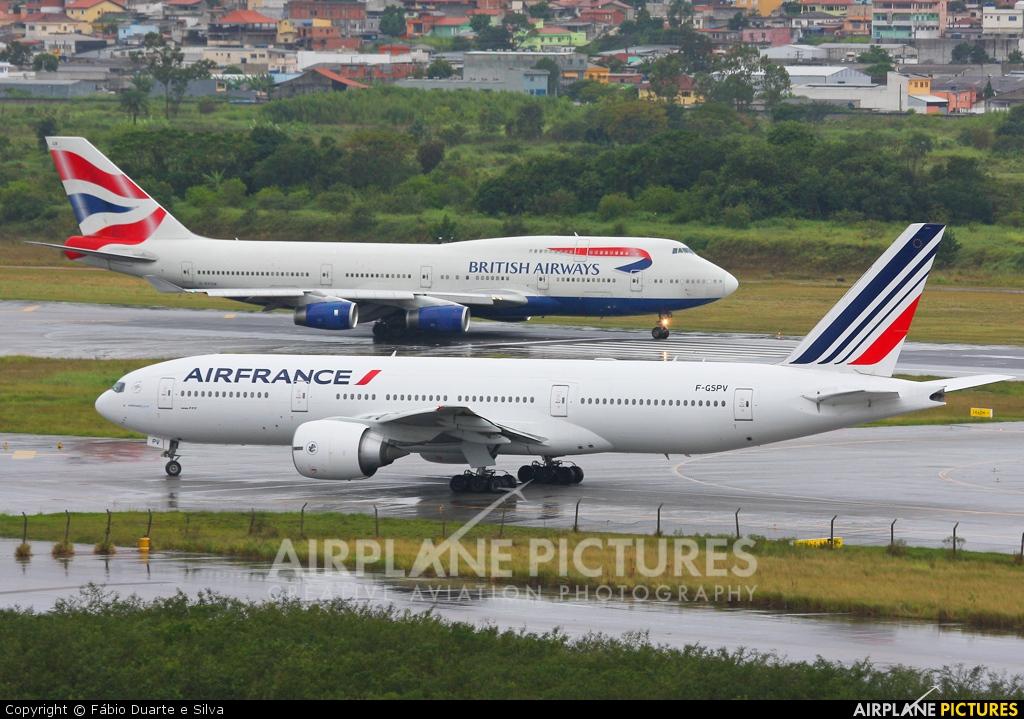 Air France F-GSPV aircraft at São Paulo - Guarulhos
