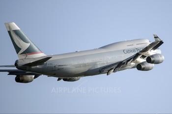 B-HUA - Cathay Pacific Boeing 747-400