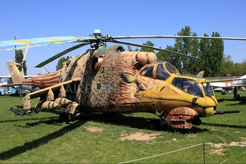 117 - Hungary - Air Force Mil Mi-24D