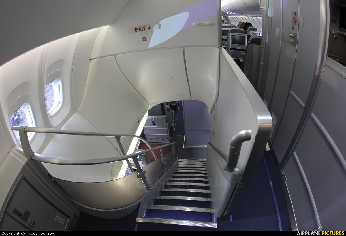 D abya lufthansa boeing 747 8 at frankfurt photo id for Boeing 747 8 interieur