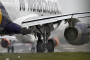 G-OZBE - Monarch Airlines Airbus A321 aircraft