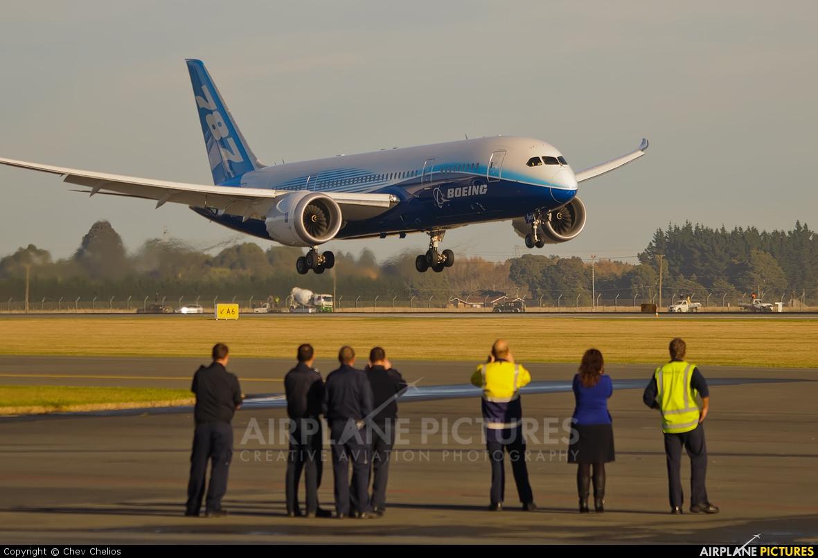 Boeing Company N787BX aircraft at Christchurch Intl