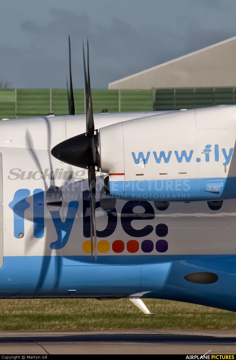 Flybe G-BWWT aircraft at Manchester