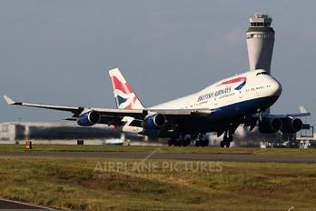 G-BNLT - British Airways Boeing 747-400