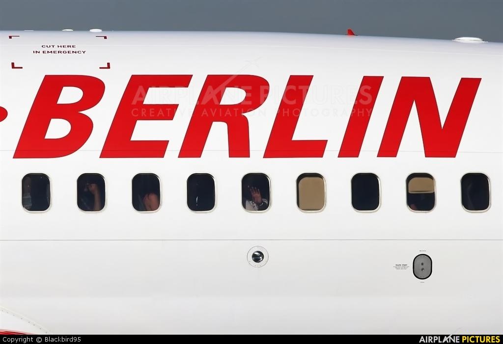 Air Berlin D-AHXA aircraft at Berlin - Tegel