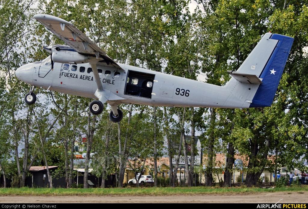Chile - Air Force 936 aircraft at Victor Lafon - San Felipe