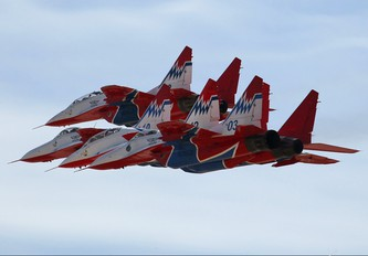 """03 - Russia - Air Force """"Strizhi"""" Mikoyan-Gurevich MiG-29"""