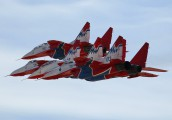 "03 - Russia - Air Force ""Strizhi"" Mikoyan-Gurevich MiG-29 aircraft"