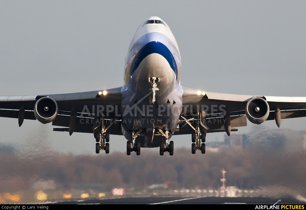 China Airlines B-18203 aircraft at Amsterdam - Schiphol